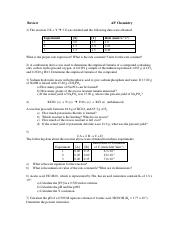 Review for Midterm-AP Answers