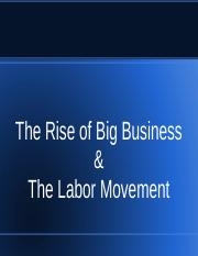 Big Business and Labor--2.ppt