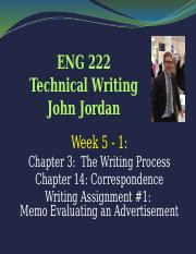 ENG 222 LPl TC Ch 3, 14 - Memos, Intro to Ads Sp17.pptx