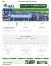 AMR Process - Dehydrator, Desalter, Oil & Gas Packages.pdf