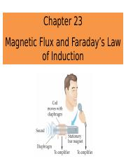 Chapter 23 Magnetic Flux_PHYS2080_PUNEET_BB