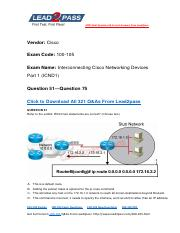 100-105 Latest Dumps Free Download From Lead2pass (51-75).pdf