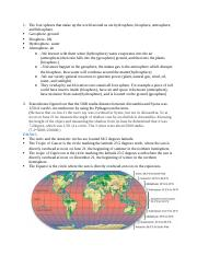 Geography study guide