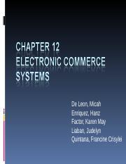 CH12_Electronic_Commerce_Systems.ppt;filename_=_UTF-8''CH12_Electronic_Comme[1]