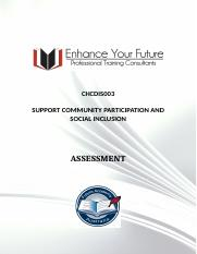 10. CHCDIS003SUPPORT COMMUNITY PARTICIPATION AND.docx