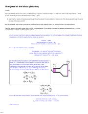 HW9 The speed of the blood solution.pdf