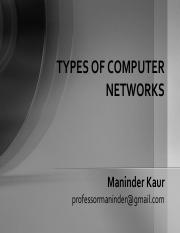 types-of-networks