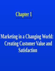 Ch 1 creating customer value.ppt