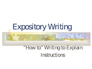 ExpositoryWriting