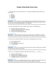 Chapter 6 Real Estate Finance Quiz.pdf