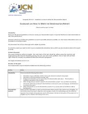 WS 0C9  Dissemination Report Guidelines NEW.doc