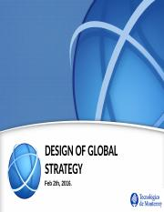 Session 7 -  Jan 2nd - International Strategy Design III