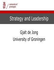 6 De Jong Strategy and Leadership.pdf