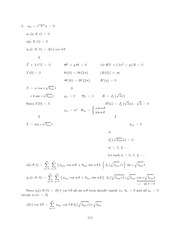 Differential Equations Lecture Work Solutions 111