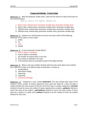 Activity Sheet 1 Solutions