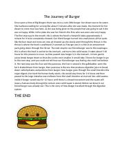 The Journey of Burger.docx
