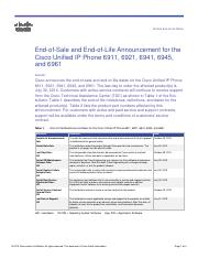 eos-eol-notice-c51-737580 - Product End-of-Life Notice End