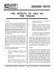 53 - THE EFFECTS OF VIAS ON TRACES