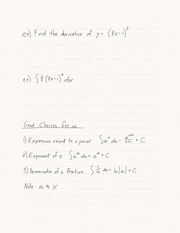 15.2 Integration by Substitution