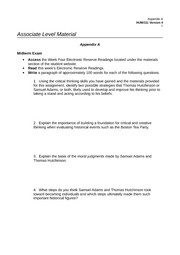 hum 186 appendix a week 2 Posts about hum 186 week 4 - the internet ethicial and legal issues written by myexamtutorial.