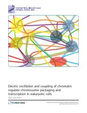 Electric oscillation and coupling of chromatin.pdf