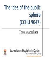 The idea of the public sphere.pdf