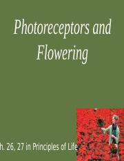 Photoreceptors and Flowering.pptx