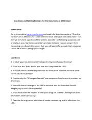 Video worksheet Am. Story of Us Millenium.docx.pdf