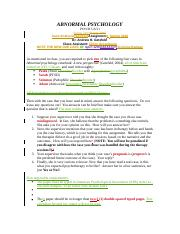 Abnormal Psychology- Case Study Directions.docx