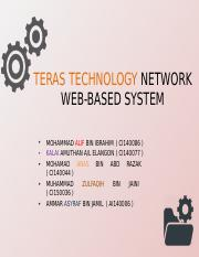 Teras Technology Network Web-based System
