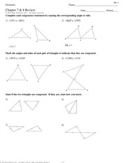 Math 9 Geometry - ID: 1 Geometry Name_ Assignment Date ...