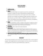 BLR 222 case brief SCHUETTE V BAMN.docx