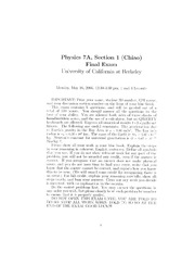 Physics_7A_-_Spring_2005_-_Chiao_-_Final