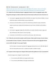 BUS 1104 - Macroeconomics - Learning Journal 3.docx