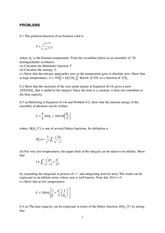 Statistical and Solid Physics Notes Statistical and Solid Physics Notes 3_tut_6