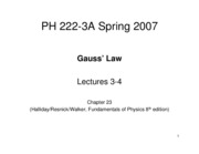 Lecture 3-4 Ch23
