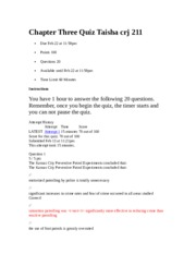 Chapter 3 Quiz Taisha crj 211