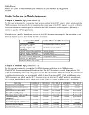 Module 4 assignment feedback and comments.docx