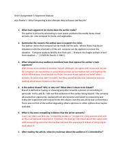 unit 1 assignment 3 argument analysis[1209].docx