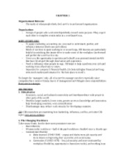 OB 221 Notes Spring 2012