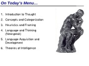 IVC Psyc 1 Summer 12 MW Lecture 8 (Thought Language Intelligence)