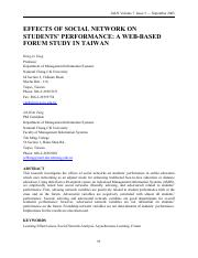 Paper 5 - web based study in Taiwan