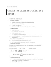 Chemistry Class and Chapter 2 Notes.docx
