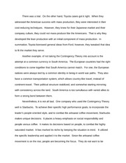 Paper on Toyota Trial/Case