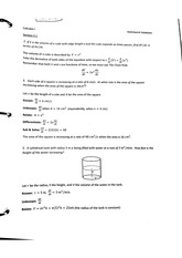 Related Rates problems with answers