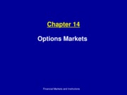 ch14_Options Markets