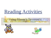 Blooms_Reading_Activities