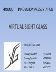 Final- Presentation - Virtual Sight Glass Team