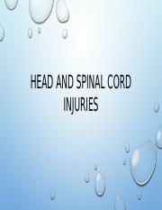 Head and spinal cord injuries.pptx