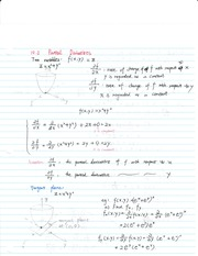 Section 10.2 Partial Derivatives